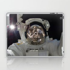 Astronaut Selfie in Space Laptop & iPad Skin