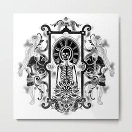 Time Inverted Metal Print