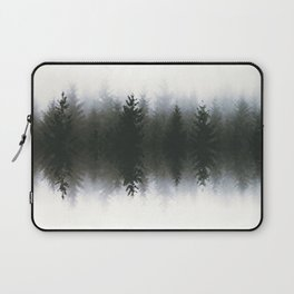 Sound waves -woods Laptop Sleeve