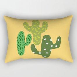 Cactus (Minimal) Rectangular Pillow