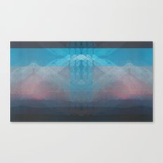 Sunset Mountains 3 Canvas Print