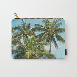 Coconut Palm Trees Sugar Beach Kihei Maui Hawaii Carry-All Pouch