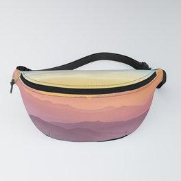 Rainbow Sunset Sky Fanny Pack