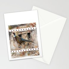 Pheasant Pillow Design Stationery Cards