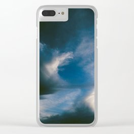 Where the Night Clouds Meet the Dawn Clear iPhone Case