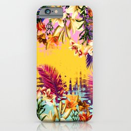 Tropical Time iPhone Case