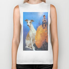 Boy and Dog Biker Tank