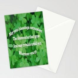 Irish Blessing Stationery Cards