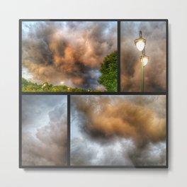 Thunderclouds Metal Print