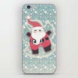 Festive moments - Snow Angel! iPhone Skin