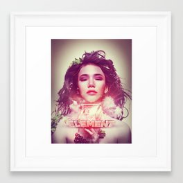Element Framed Art Print