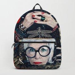 Lovely Iris Apfel Backpack
