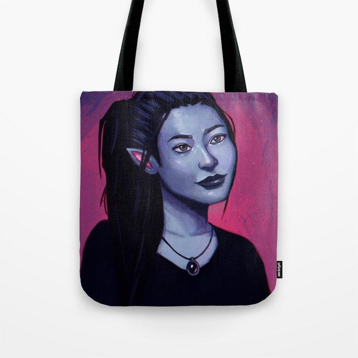 Portrit of Amara Tote Bag