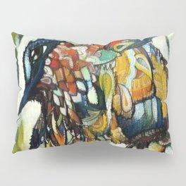 Dramatic Hummingbird in Flight, Colors of Autumn Pillow Sham