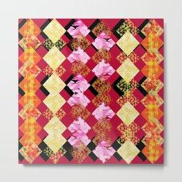 precious multicolor shapes Metal Print