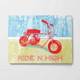 Ride N' High Metal Print