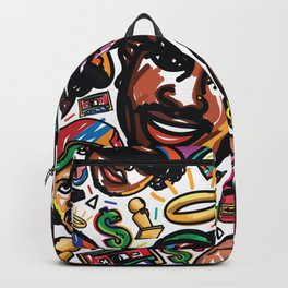 Eztaughtme Collage Backpack