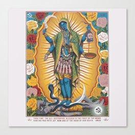 Hindu - Kali 6 Canvas Print