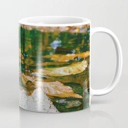 Autumn Leaf in Water (Color) Coffee Mug