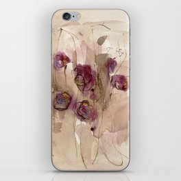 Vibrations - Abstract Flowers iPhone Skin