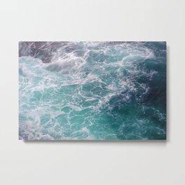 moving seawater Metal Print