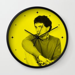 Rowan Atkinson (Mr. Bean) - Celebrity (Florescent Color Technique) Wall Clock