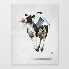 Holy Cow (wordless) Canvas Print