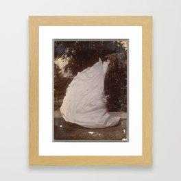 Loie Fuller Dancing by Samuel Beckett Framed Art Print