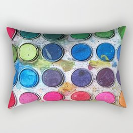 Happy accidents Rectangular Pillow