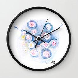 Pal-mostereyes Wall Clock