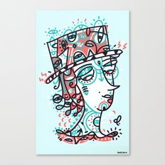 Landlord of the heart Canvas Print