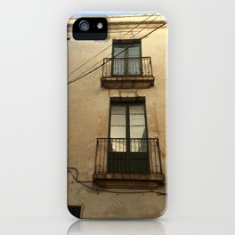 Apartment Windows iPhone Case