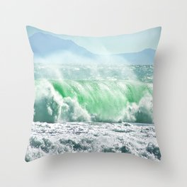 Emerald 2 Throw Pillow