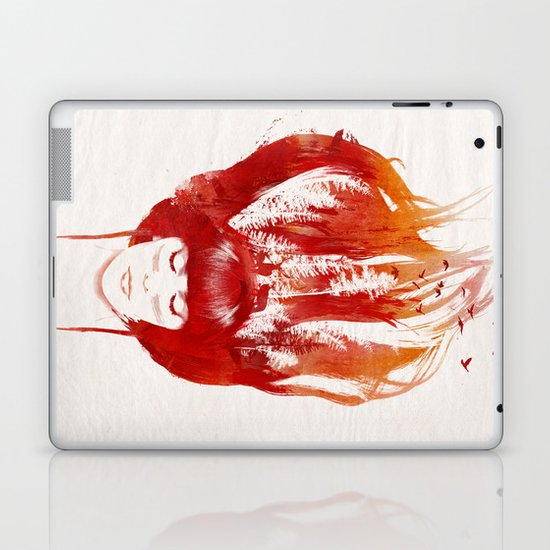 Burning Forest Laptop & iPad Skin