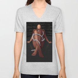 In Chains Unisex V-Neck