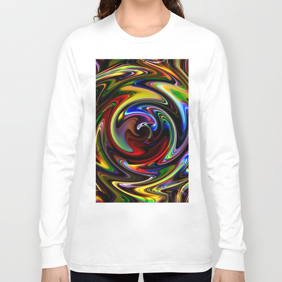 Abstract Perfection 54 Long Sleeve T-shirt