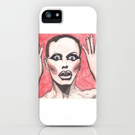 """Alyssa Edwards; """"She was the one backstabbing me behind my back!"""" iPhone Case"""