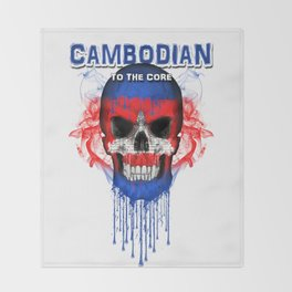 To The Core Collection: Cambodia Throw Blanket
