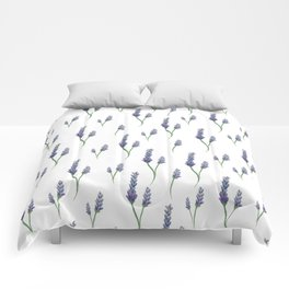 Lavender Sprigs Comforters