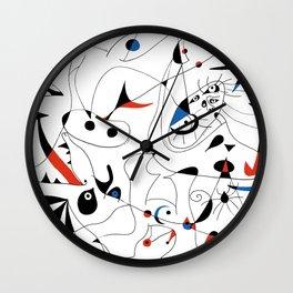 Joan Mirò #5 Wall Clock