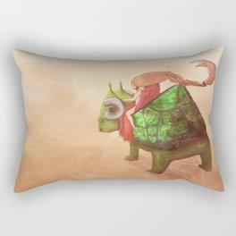 Hermit Dragon Adventures Rectangular Pillow