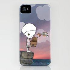 Gone Fishing (2) iPhone (4, 4s) Slim Case