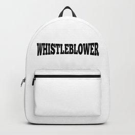 WHISTLEBLOWER Backpack