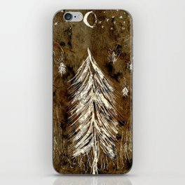 Dawn In A Burning Forest iPhone Skin