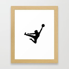 #TheJumpmanSeries, Bruce the Little Phoenix Framed Art Print