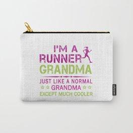 RUNNER GRANDMA Carry-All Pouch