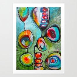 Pleine conscience/Mindfulness Art Print