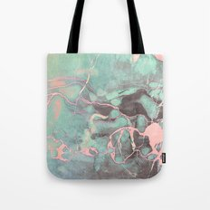 Delicate Shadow Marble Tote Bag