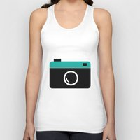 cameras Tank Tops featuring cameras by Sahar