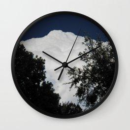Cloud Mountain Wall Clock
